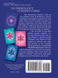 Numerology Guidance Cards and the Law of Attraction